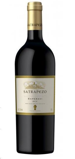 Грузинские вина, Saperavi, 2010, Satrapezo, Кахетия, Грузия