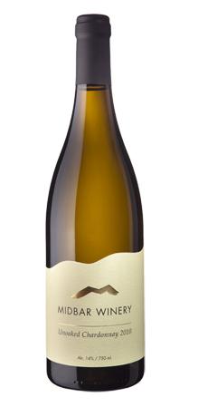 Израильское вино, Unoaked Chardonnay, 2010, Midbar Winery, Пустыня Негев, Израиль