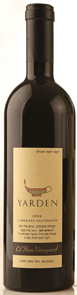 Израильское вино, Cabernet Sauvignon, Elrom, 2001, Yarden, Golan Heights Winery, Голанские Высоты, Израиль
