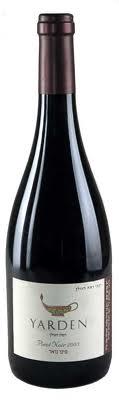Израильское вино, Pinot Noir, 2005, Yarden, Golan Heights Winery, Голанские Высоты, Израиль