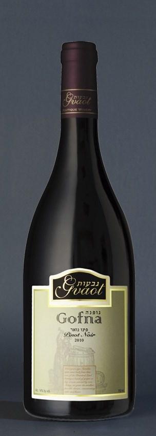 Израильское вино, Кошерное, Pinot Noir, 2010, Gofna, Gvaot, Иудейские горы, Израиль