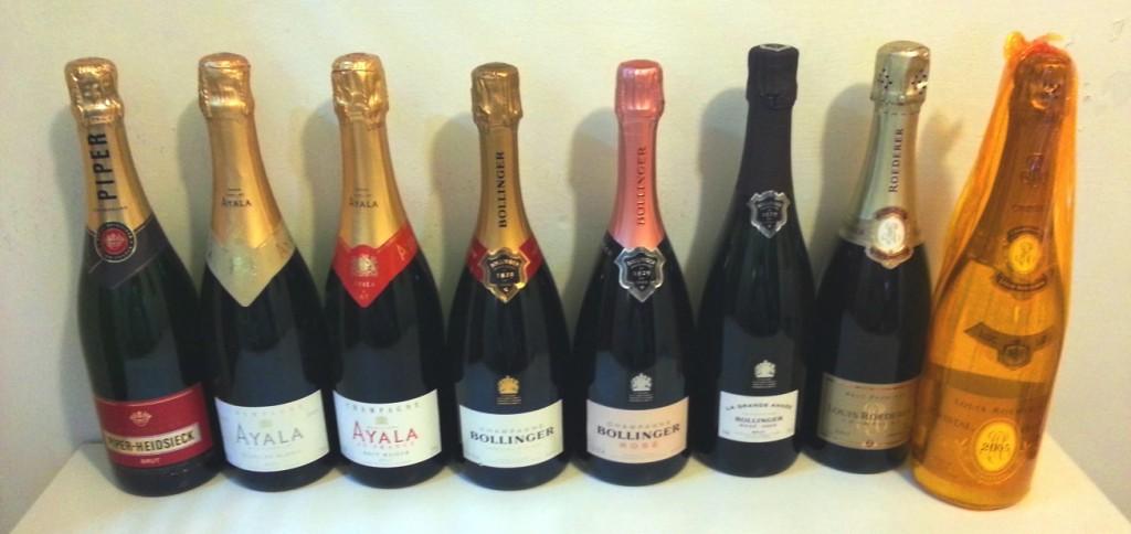 Первая дегустация шампанских вин