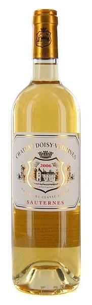 Французское вино, Chateau Doisy-Vedrines, 2009, Deuxieme Cru Classe, Sauternes, Бордо, Франция