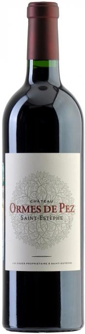 Французское вино, Chateau Ormes de Pez, 2007, Cru Bourgeois, Saint-Estephe, Бордо, Франция