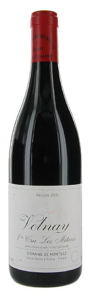 Французское вино, Les Mitans, 2010, Volnay, 1er cru, Domaine de Montille, Бургундия, Франция