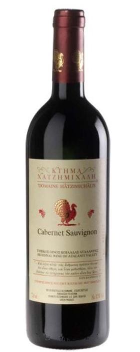 Греческое вино, Cabernet Sauvignon, 2007, Domaine Hatzimichalis, Аталанти, Греция