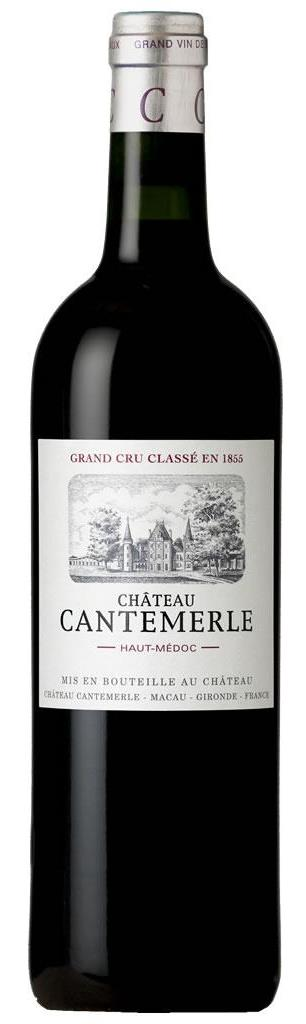 Французское вино, Chateau Cantemerle, 2009, Cinquieme Grand Cru Classe, Haut-Medoc, Бордо, Франция