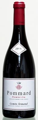 Французское вино, Pommard, 1er cru, 2010, Domaine Comte Armand, Бургундия, Франция