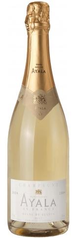 Французское вино, Blanc de Blancs, Brut, 2000 (Degorgage 2007), Ayala, Шампань, Франция