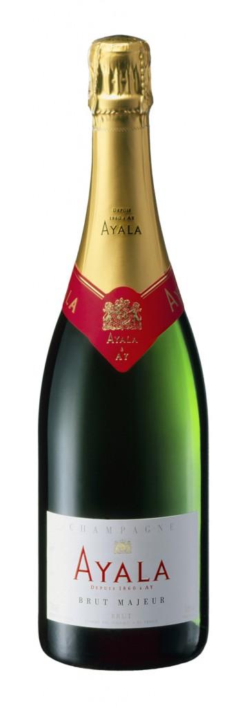 Французское вино, Шампанское, Brut Majeaur, NV, Ayala, Шампань, Франция