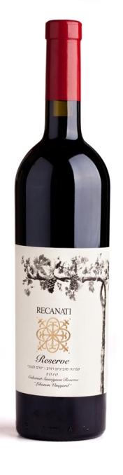 Израильское вино, Cabernet Sauvignon, 2010, Lebanon Vineyard, Reserve, Recanati, Верхняя Галилея, Израиль