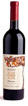 Израильское вино, Merlot, 2010, Manara Vineyard, Reserve, Recanati, Верхняя Галилея, Израиль