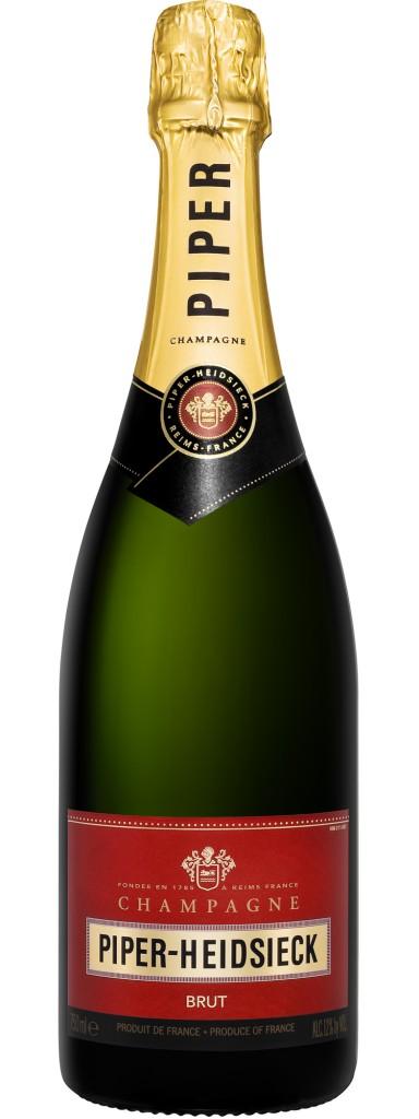 Французское вино, Brut, NV, Piper Heidsick, Шампань, Франция
