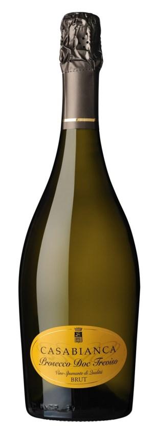 Итальянское вино, Treviso, Brut, NV, Prosecco, DOC, Casa Bianca, Венето, Италия