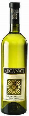 Израильское вино, Sauvignon Blanc, 2012, Recanati, Верхняя Галилея, Израиль