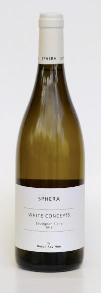 Израильское вино, Sauvignon Blanc, 2012, White concepts, Sphera, Верхняя Галилея, Израиль