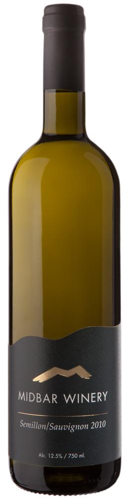 Израильское вино, Semillon, Sauvignon, 2010, Midbar Winery, Пустыня Негев, Израиль