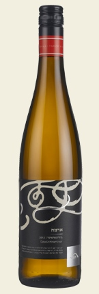 Израильское вино, Gewurztraminer, 2012, Adama, Tabor winery, Верхняя Галилея, Израиль