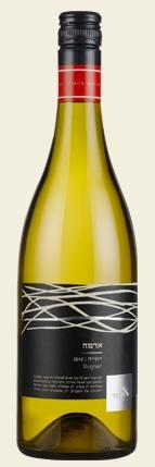 Израильское вино, Кошерное, Viognier, 2012, Adama, Tabor winery, Верхняя Галилея, Израиль