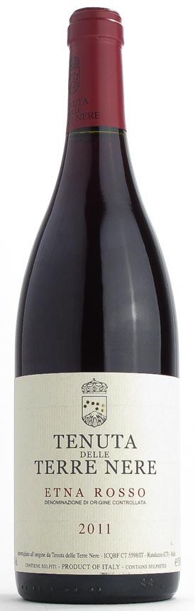 Итальянское вино, Rosso, 2011, Etna DOC, Tenuta delle Terre Nere, Сицилия, Италия