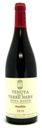 Итальянское вино, Guardiola, 2009, Etna, DOC, Tenuta delle Terre Nere, Сицилия, Италия