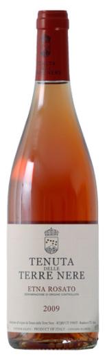 Итальянское вино, Rosato, 2011, Etna, DOC, Tenuta delle Terre Nere, Сицилия, Италия