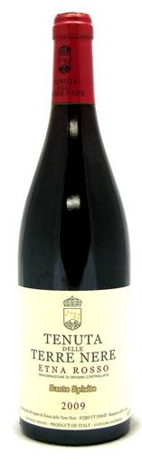 Итальянское вино, Santo Spirito 2009, Etna, DOC, Tenuta delle Terre Nere, Сицилия, Италия