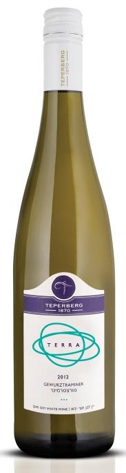 Израильское вино, Gewurztraminer, 2012, Terra, Teperberg, Иудейские горы, Израиль