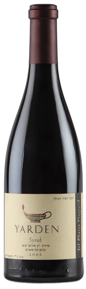 Израильское вино, Рамат Хаголан, Кошерное, Syrah, Tel Phares Vineyard, 2008, Yarden, Golan Heights Winery, Голанские высоты, Израиль