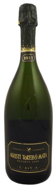 Испанское вино, Игристое, Cava, Reserva, 2007, Brut, Agusti Torello Mata, Penedes, Каталония, Испания