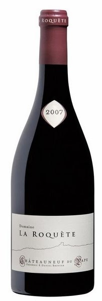 Французское вино, Chateauneuf du Pape, 2007, Domaine la Roquete, Долина Роны, Франция