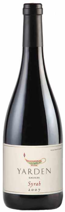 Израильское вино, Кошерное, Рамат Хаголан, Syrah, 2009, Yarden, Golan Heights Winery, Голанские высоты, Израиль