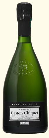 Французское вино, Шампанское, Spécial Club, 2005, Gaston Chiquet, Шампань, Франция