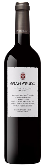 Испанское вино, Gran Feudo, Viñas Viejas, Reserva, 2007, Chivite, Наварра, Испания