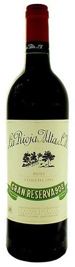 Испанское вино, Gran Reserva 904,1998, La Rioja Alta, Рьоха, Испания