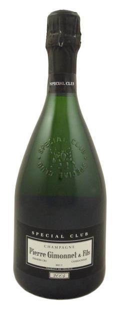 Французское вино, Шампанское, Spécial Club, Premier Cru, 2005, Pierre Gimonnet, Шампань, Франция