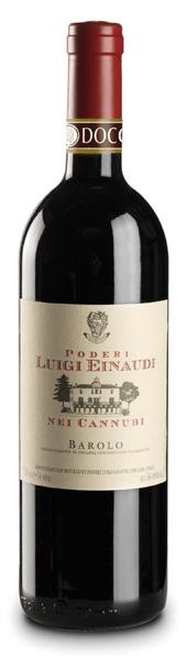 Итальянское вино, Nei Cannubi, 1997, Barolo, DOCG, Poderi Luigi Einaudi, Пьемонте, Италия