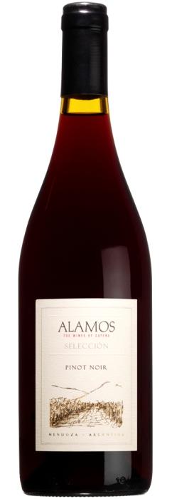 Аргентинское вино, Pinot Noir, 2010, Alamos Seleccion, Catena Zapata, Мендоса, Аргентина
