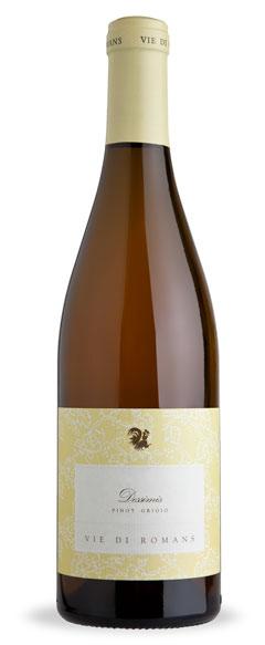 Итальянское вино, Dessimis, Pinot Grigio, 2009, Vie di Romans, Фриули, Италия