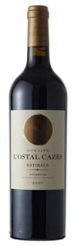 Французское вино, Minervois, La Liviniere, Estibals, 2005, Domaine L'Ostal Cazes, Лангедок, Руссильон, Франция