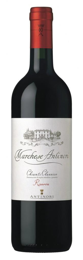 Итальянское вино, Marchese Antinori, 2007, Chianti, Classico Riserva, DOCG, Antinori, Тоскана, Италия