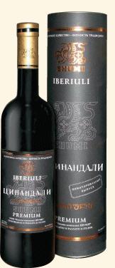 Грузинские вина, Tsinandali, 2007, Iberiuli, Premium, Shumi, Кахетия, Грузия
