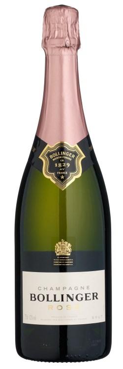 Французское вино, Шампанское, Rose, Brut, NV, Bollinger, Шампань, Франция